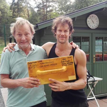 Segrare: Håkan Johansson & Joel Hedman
